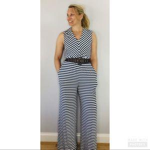 Matilda Jane Joanna Gaines striped knit jumpsuit